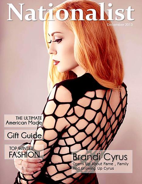 brandi cyrus nationalist magazine