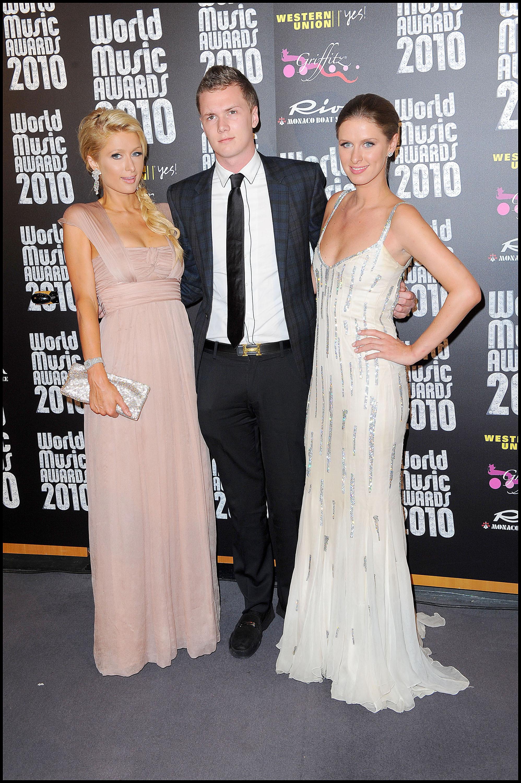 Paris Hilton Nicky Hilton Barron Hilton