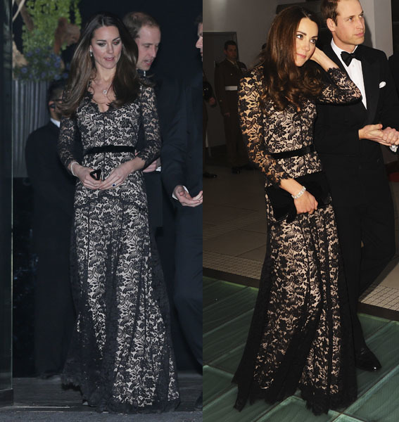 duchess kate recycled gown