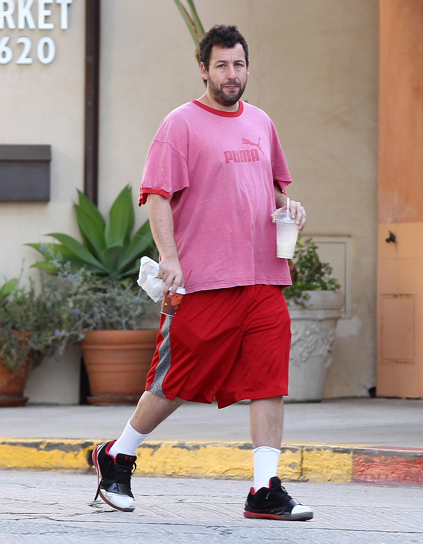 adam sandler red shorts