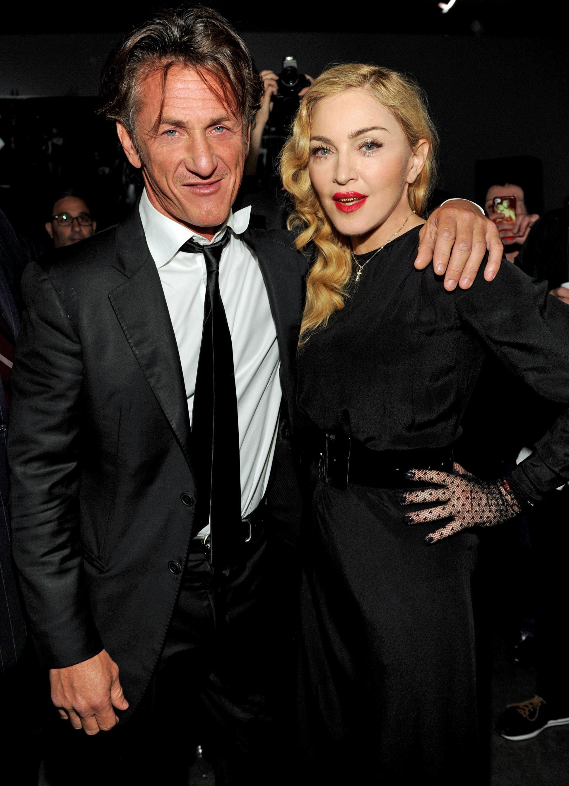 Sean Penn Madonna 2013