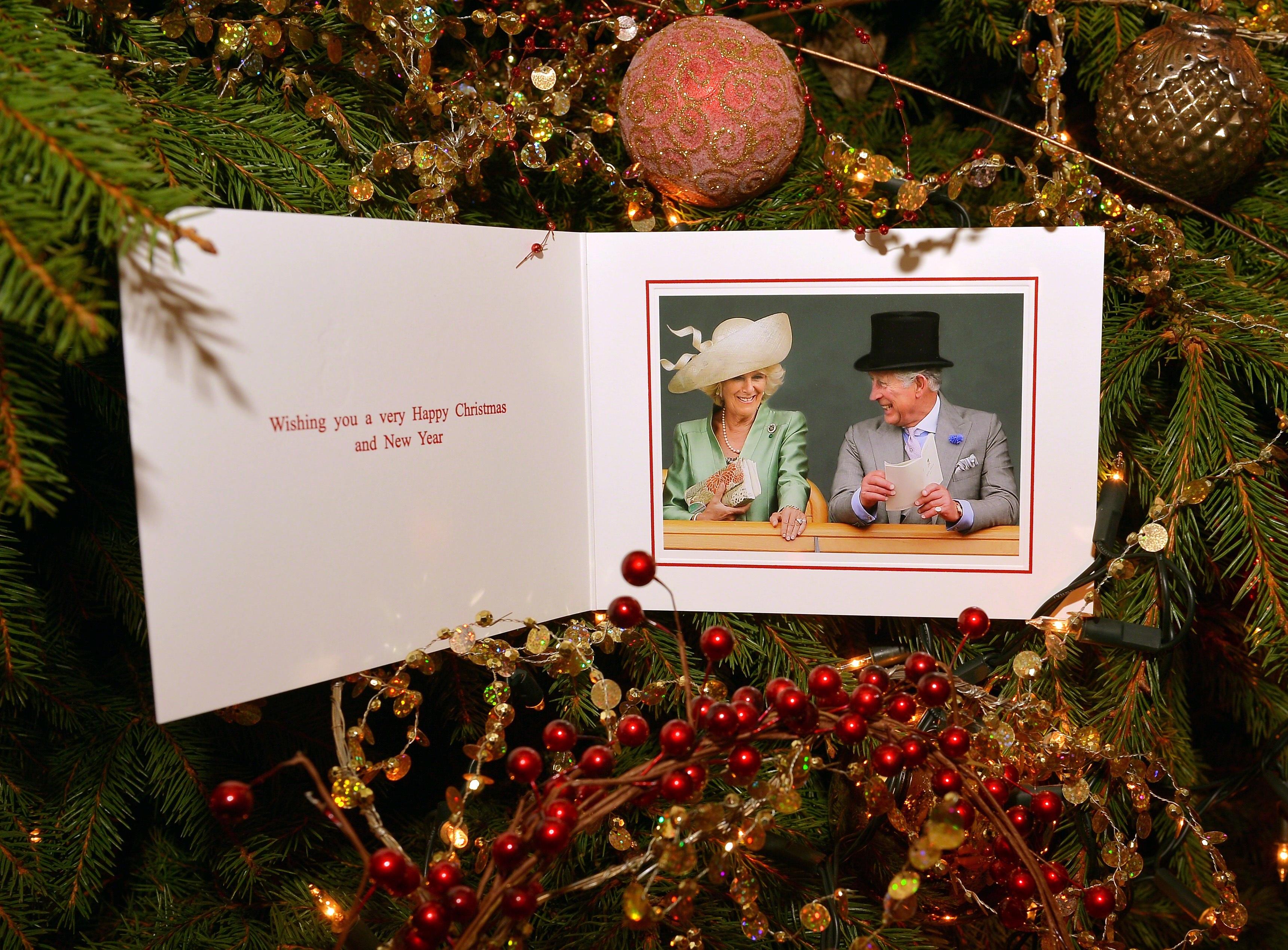 Prince Charles Camilla Christmas card