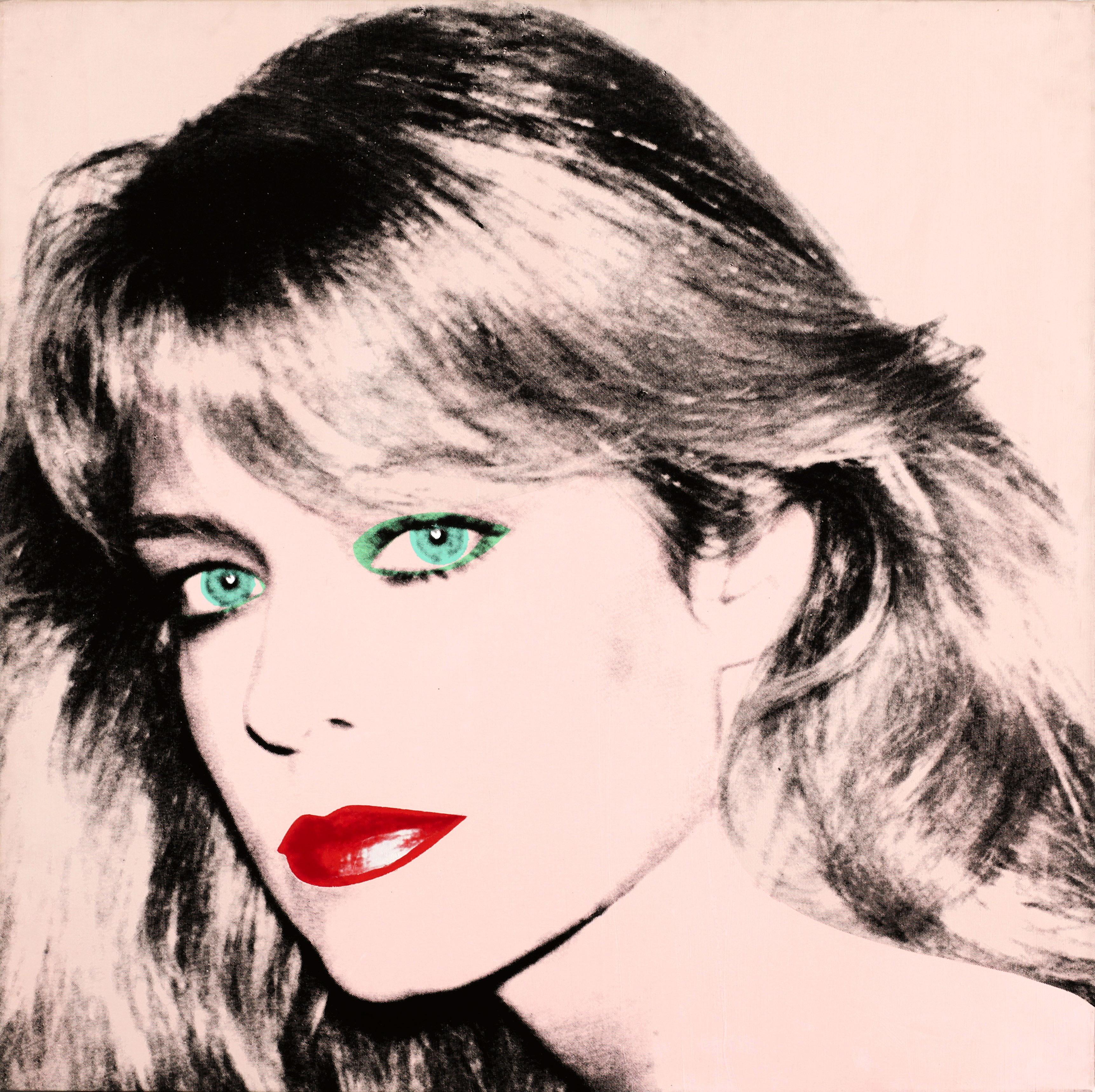 Farrah Fawcett Andy Warhol