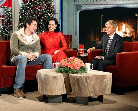 Katy Perry John Mayer Ellen