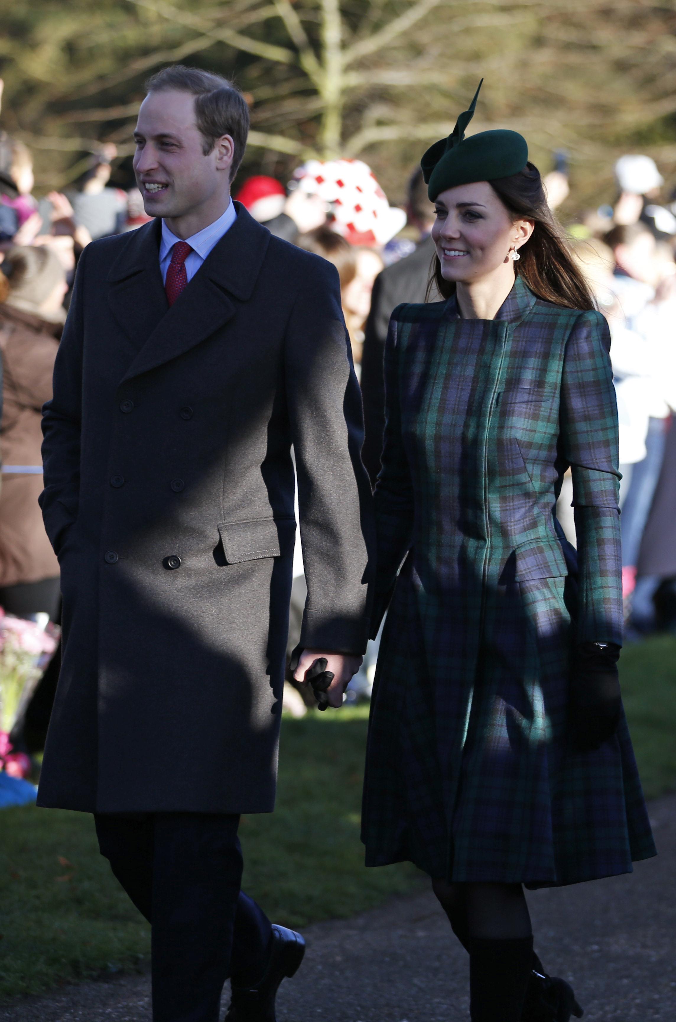 Prince William christmas