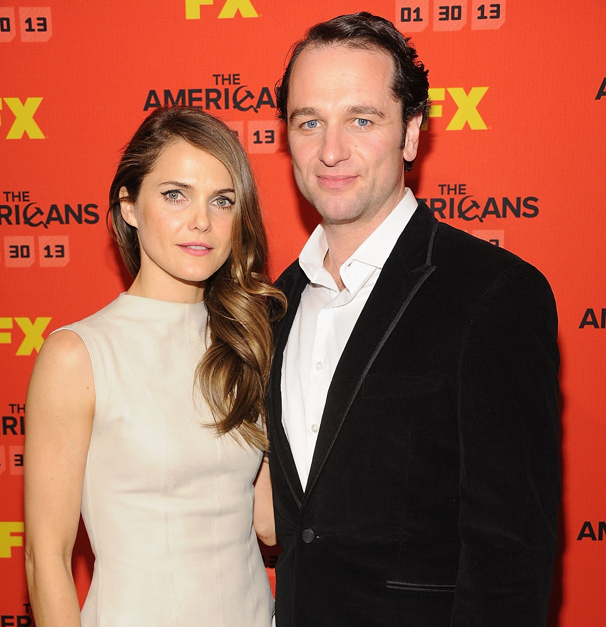 Keri Russell and Matthew Rhys