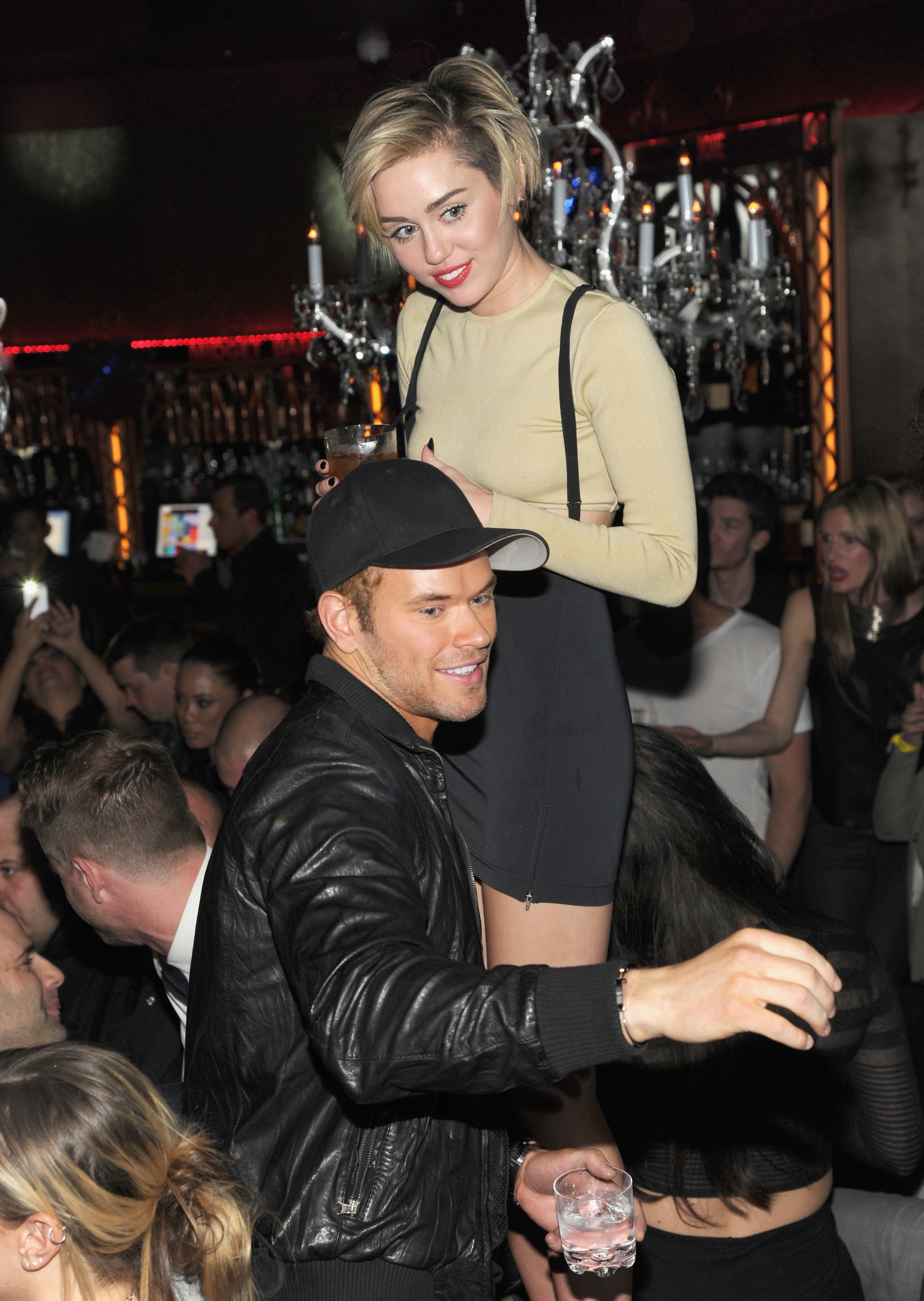Miley Cyrus Kellan Lutz