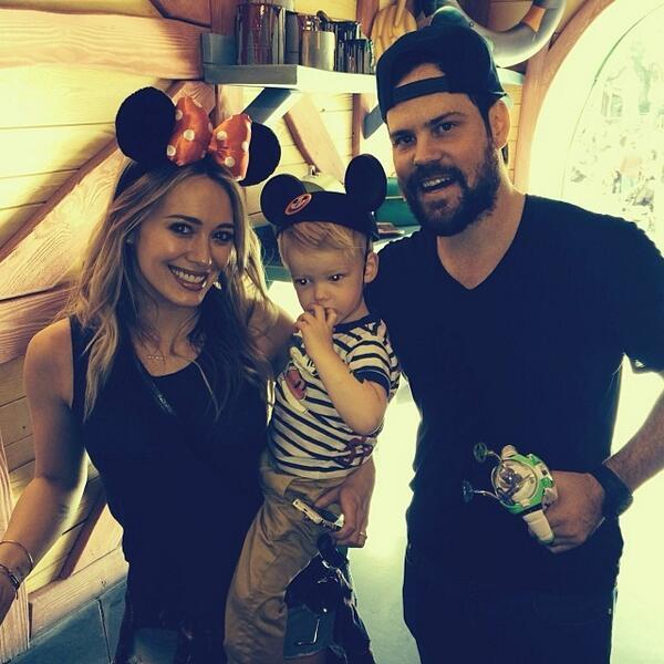 Hilary Duff mike comrie son