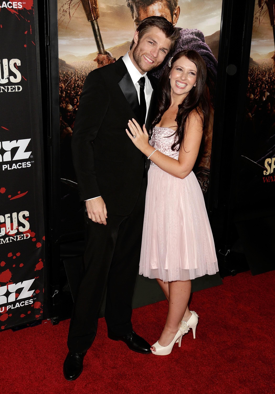 Liam McIntyre wife Erin Hasan
