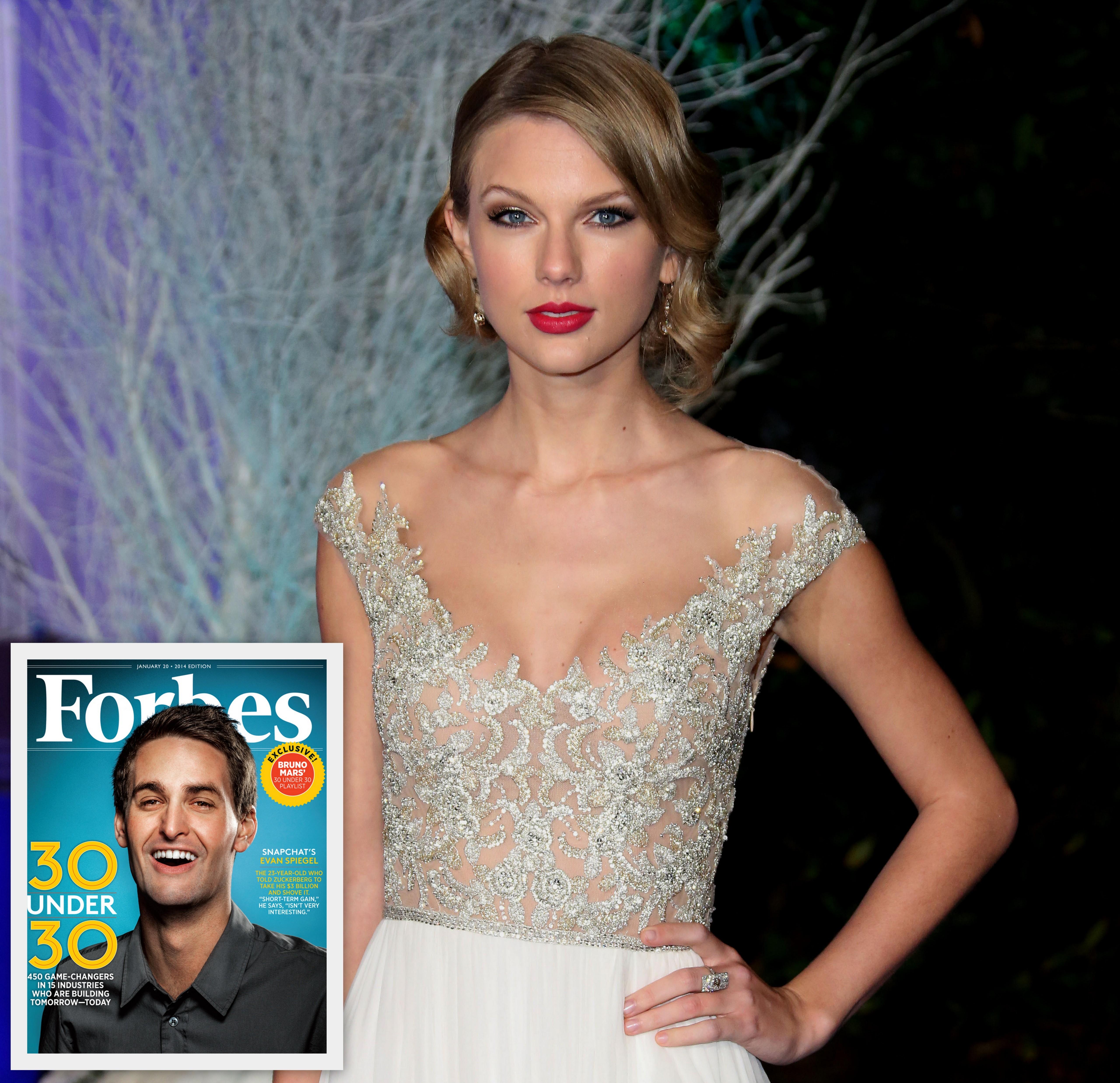 Taylor Swift Evan Spiegel