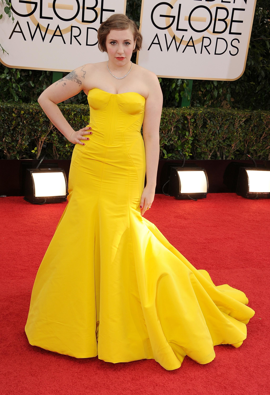 Lena Dunham golden globes