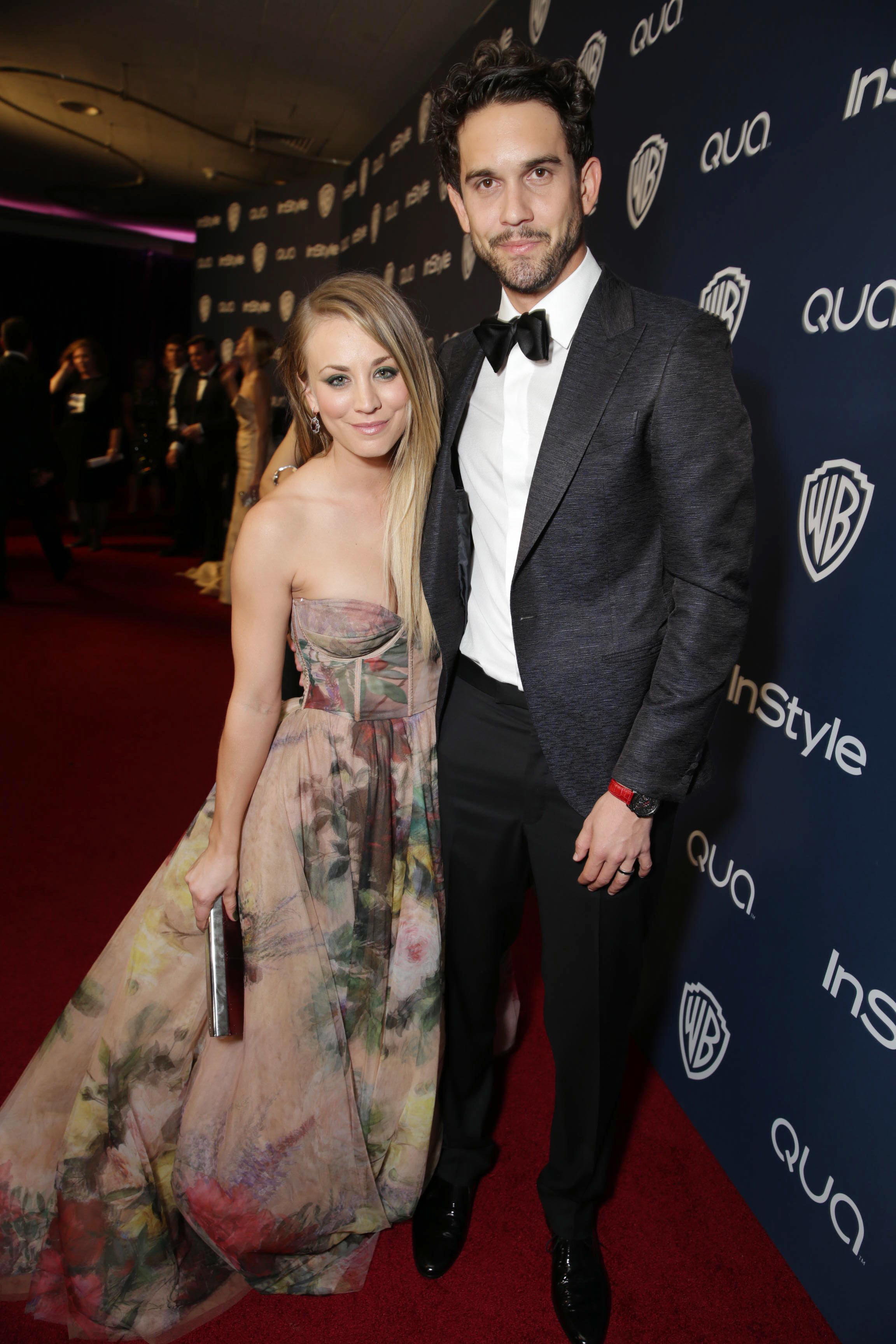 Kaley Cuoco Ryan Sweeting Globes afterparty