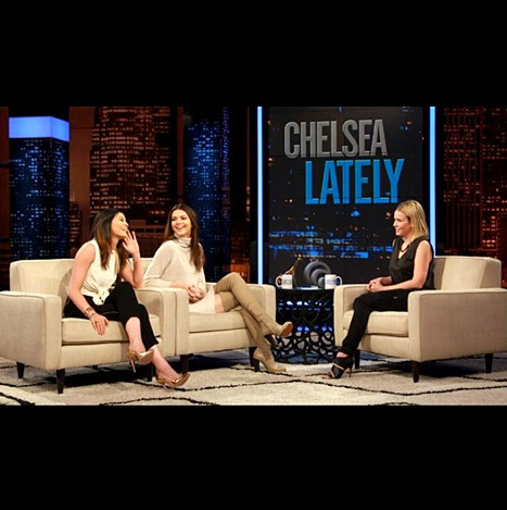 Kendall and Kylie Jenner Chelsea Lately