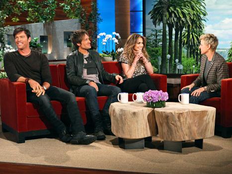 Jennifer Lopez Ellen DeGeneres Idol judges