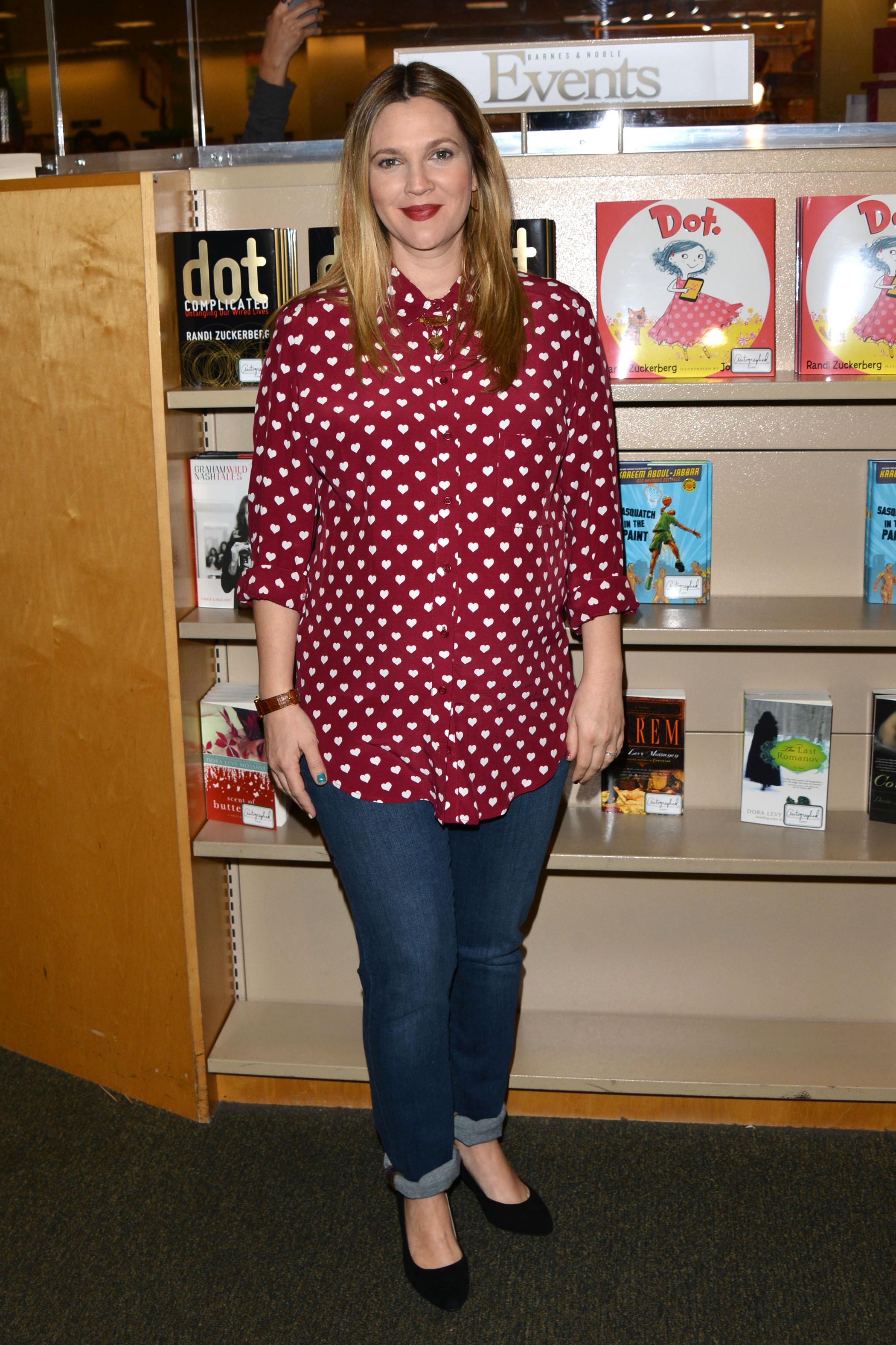 Drew Barrymore book