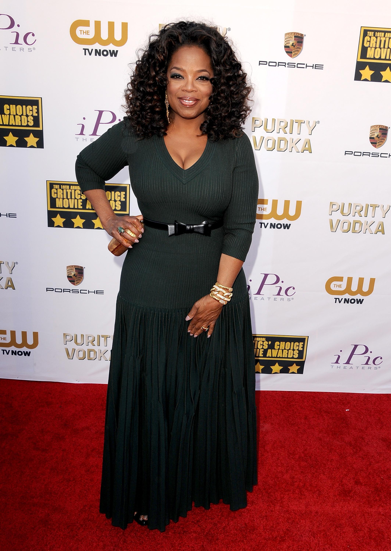 Oprah Winfrey 2014 Critics Choice