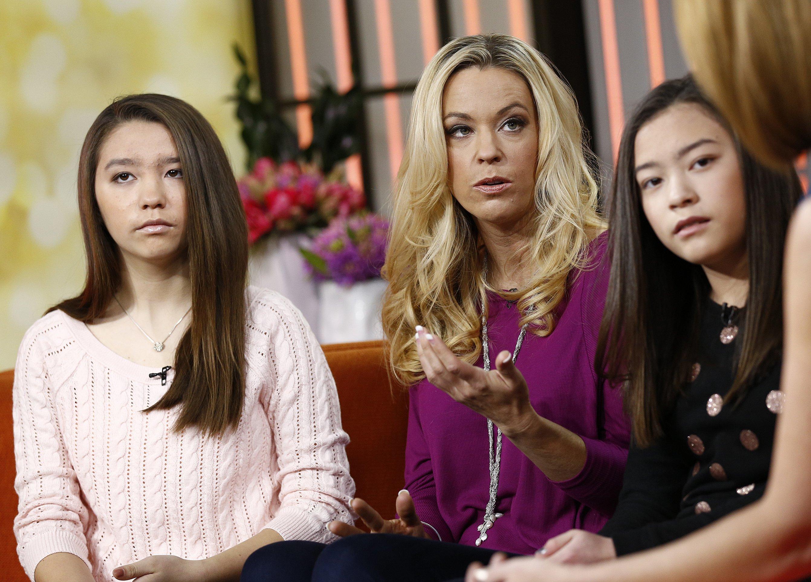 Cara Gosselin, Kate Gosselin and Mady Gosselin