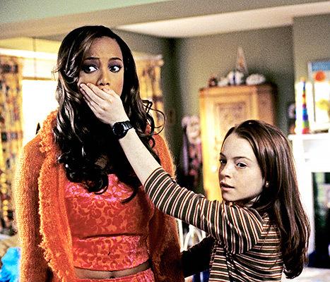 Tyra Banks Lindsay Lohan Life Size