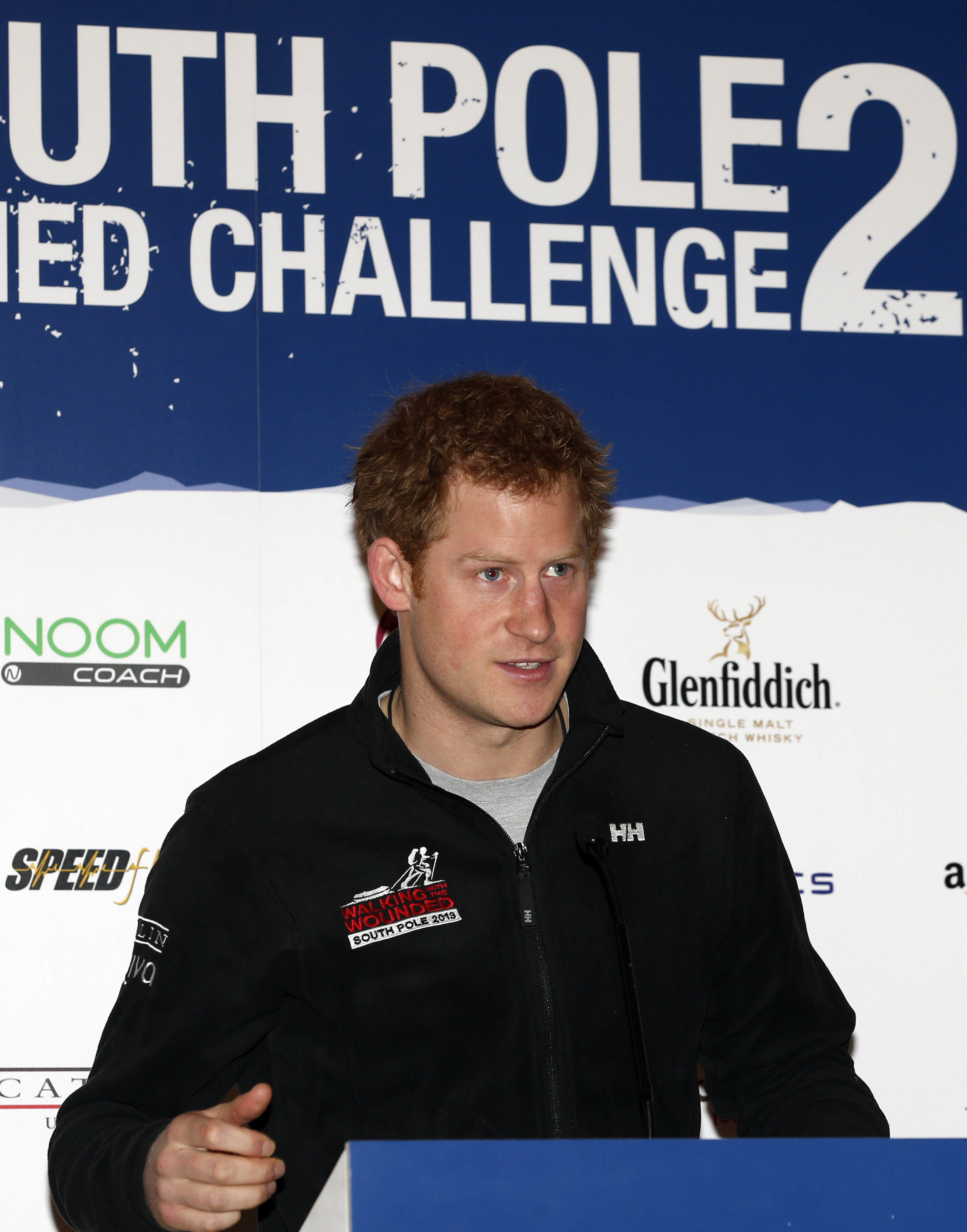 Prince Harry shaven