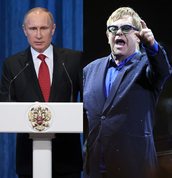 Elton John Putin