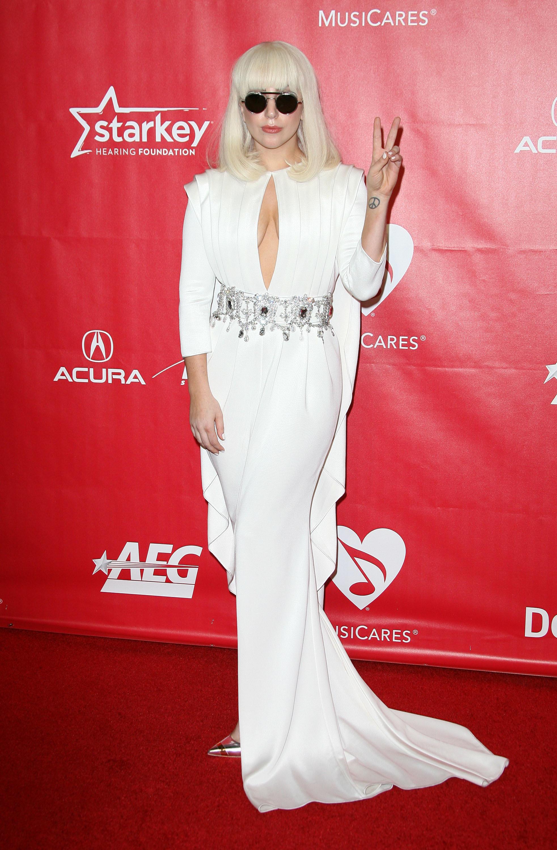 Lady Gaga Musicares Grammys