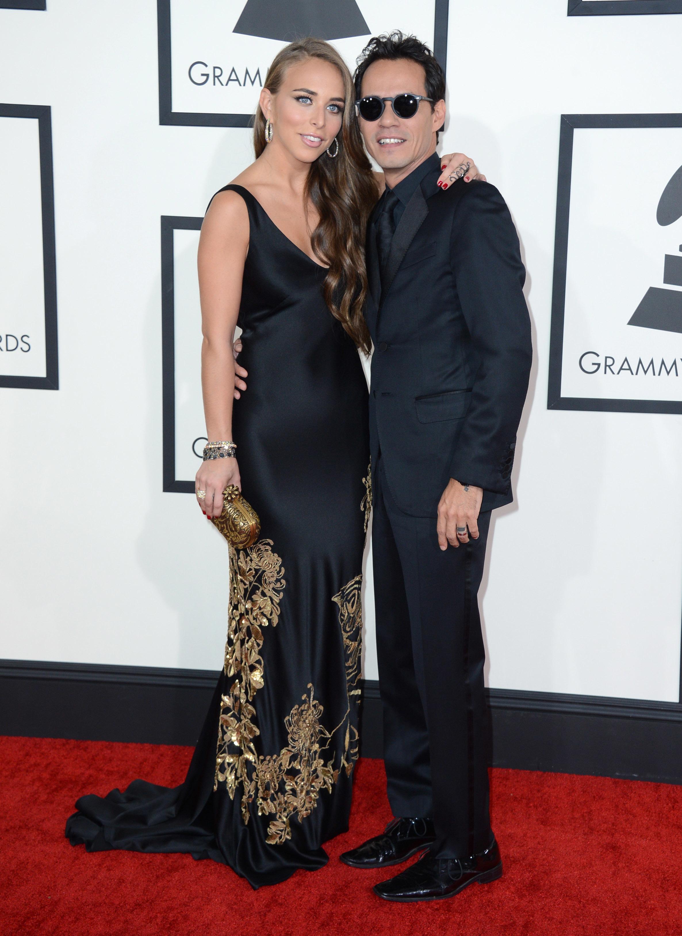 Marc Anthony Chloe Green Grammys 2014