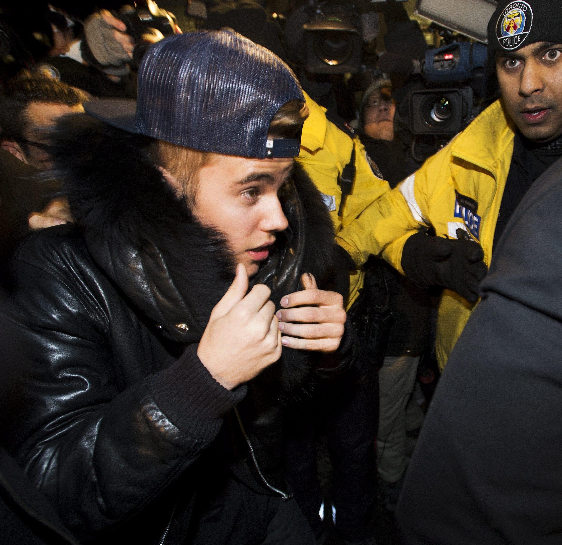 Bieber assault Canada