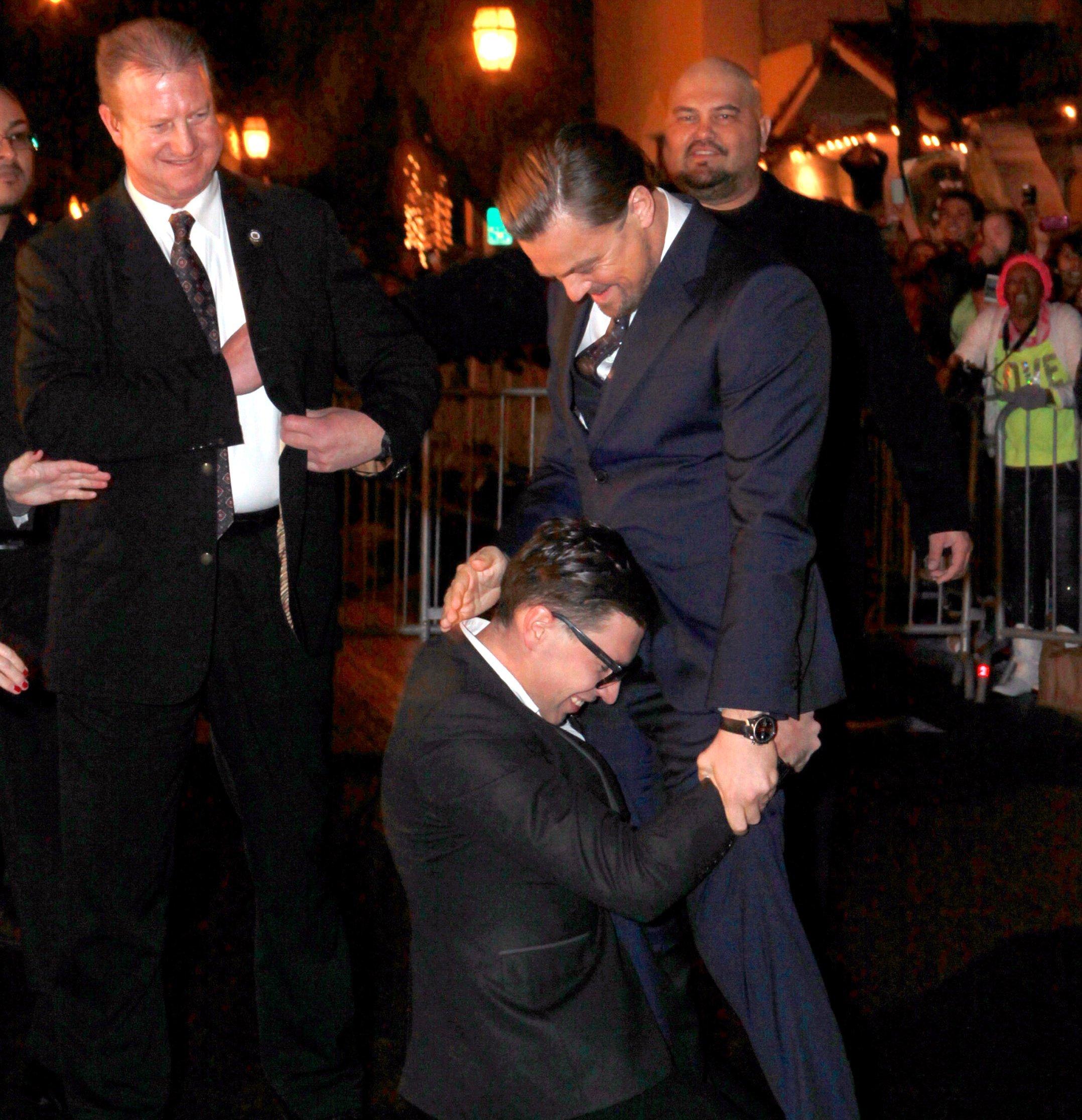 Leonardo DiCaprio prankster