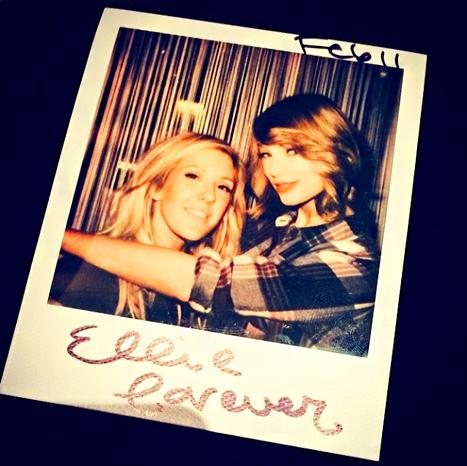 Taylor Swift Ellie Goulding