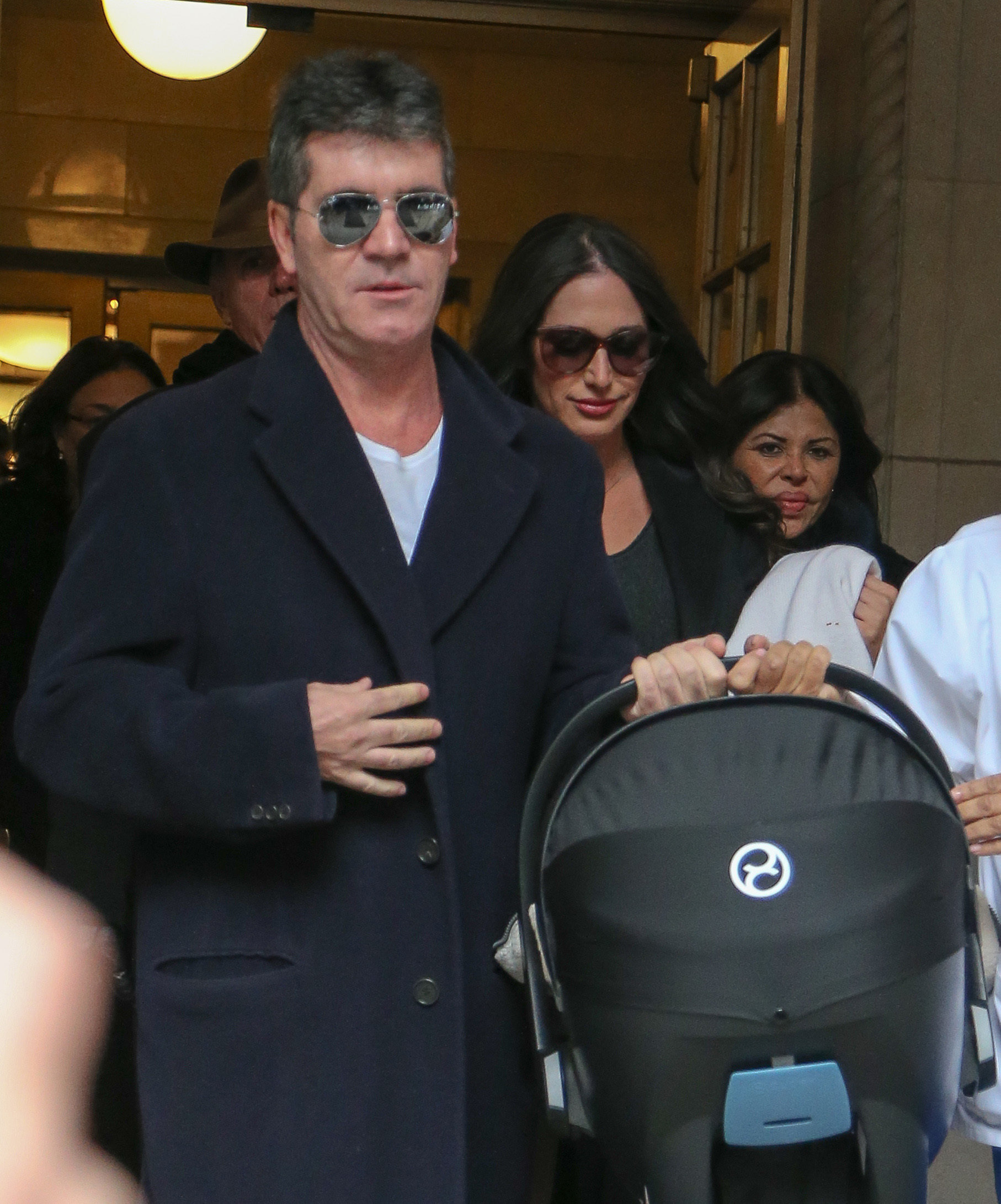 Simon Cowell Lauren Silverman baby