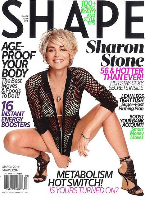 sharon stone shape