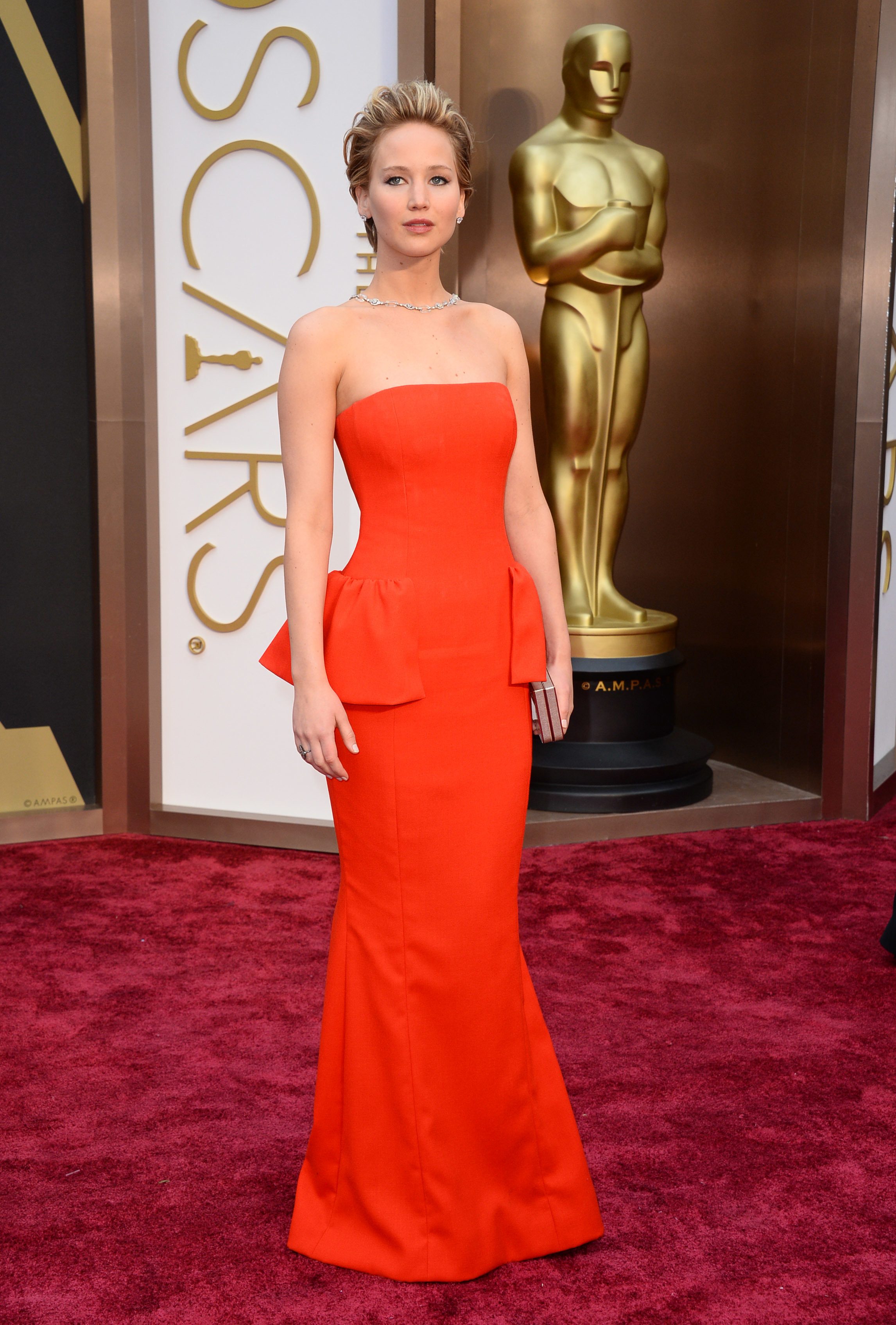 jennifer lawrences oscars