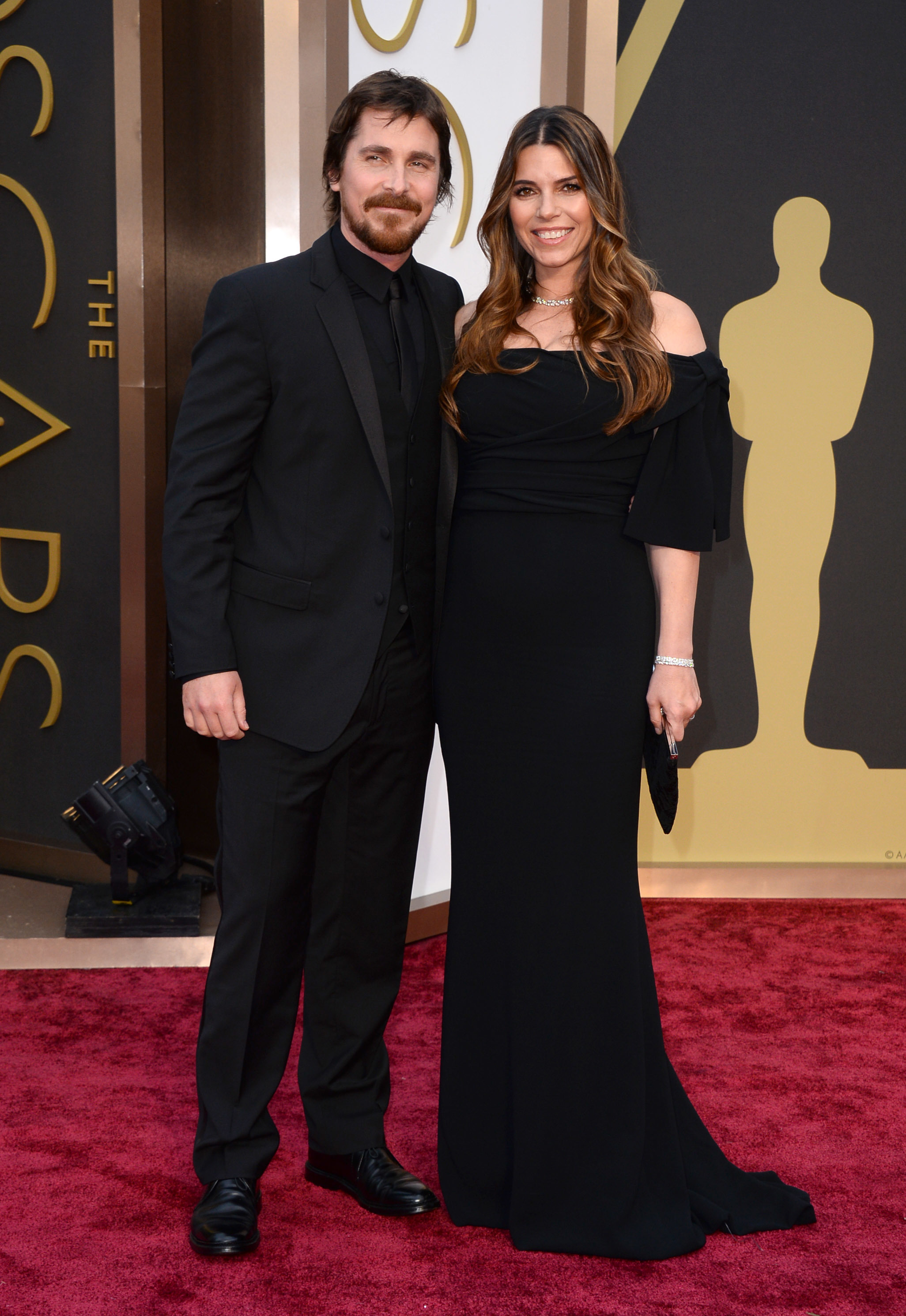 Christian Bale Sibi Blazic Oscars 2014