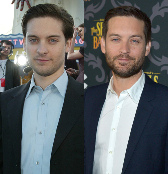Tobey Maguire then and now - Ageless wonders - older ...