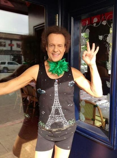 richard simmons st. patrick's day