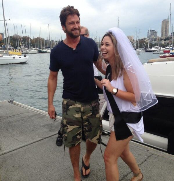 Gerard Butler bachelorette party