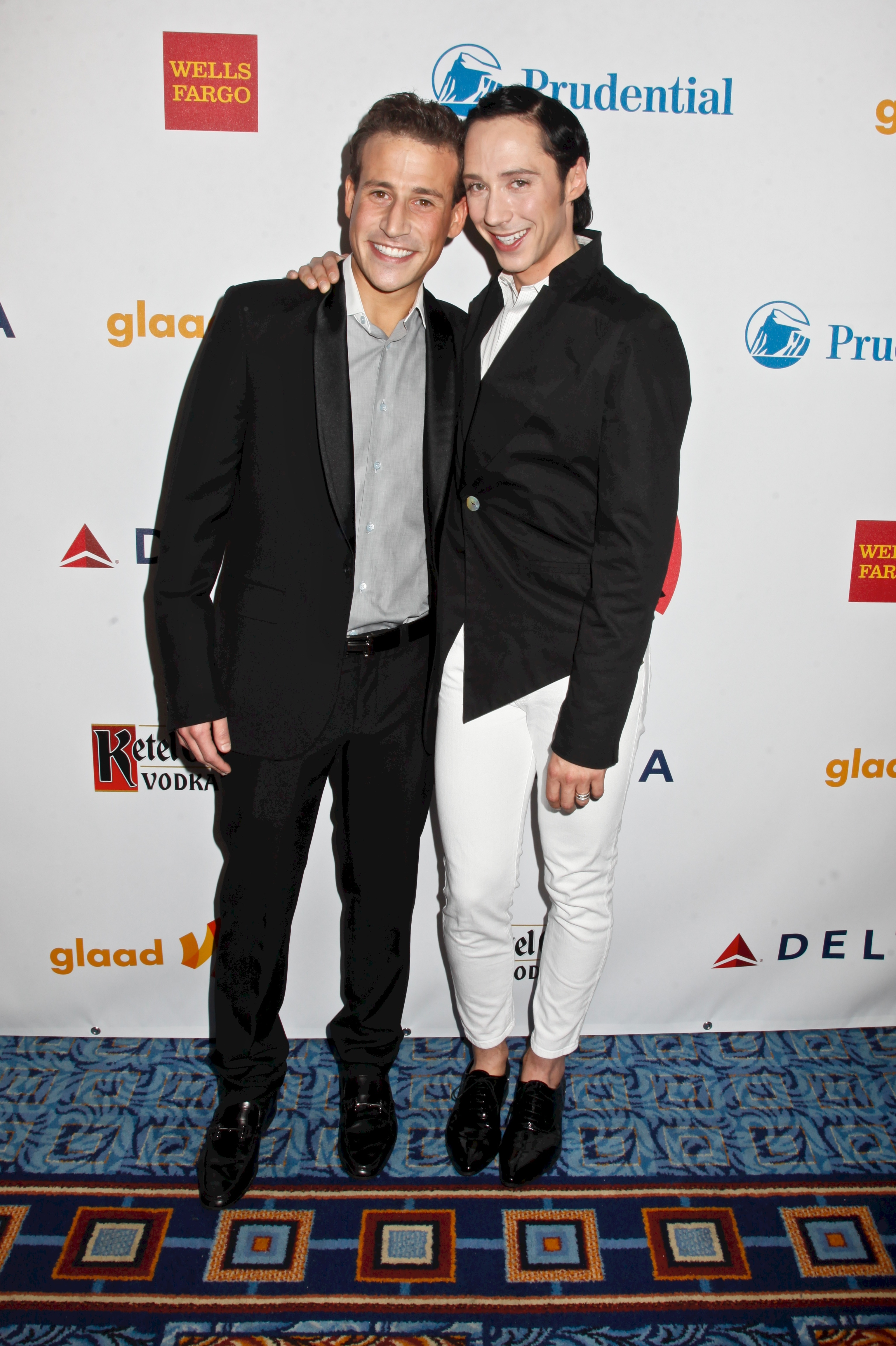 johnny weir husband split