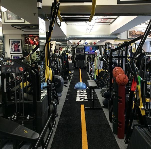 rob kardashian gym