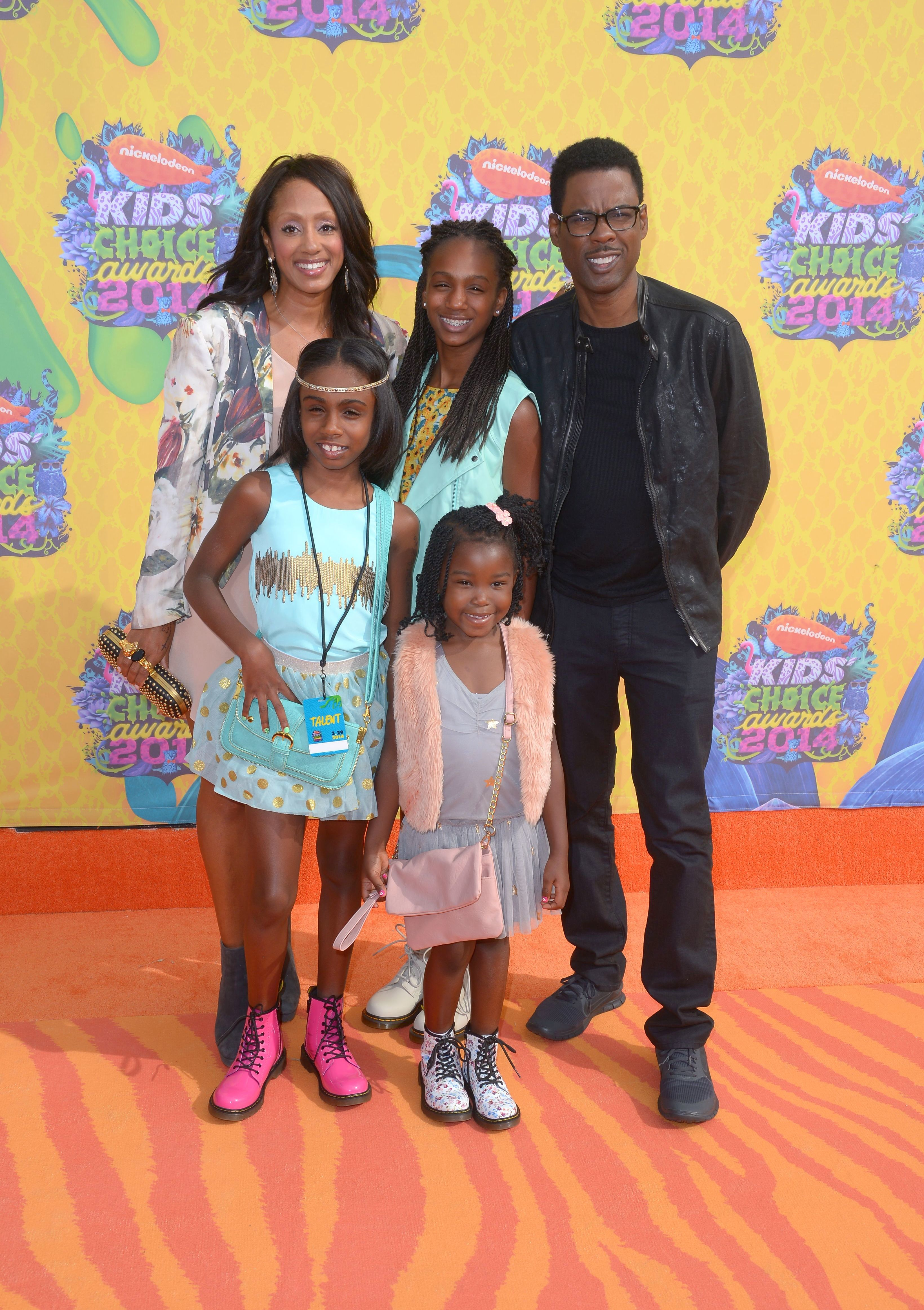 chris rock wife kids