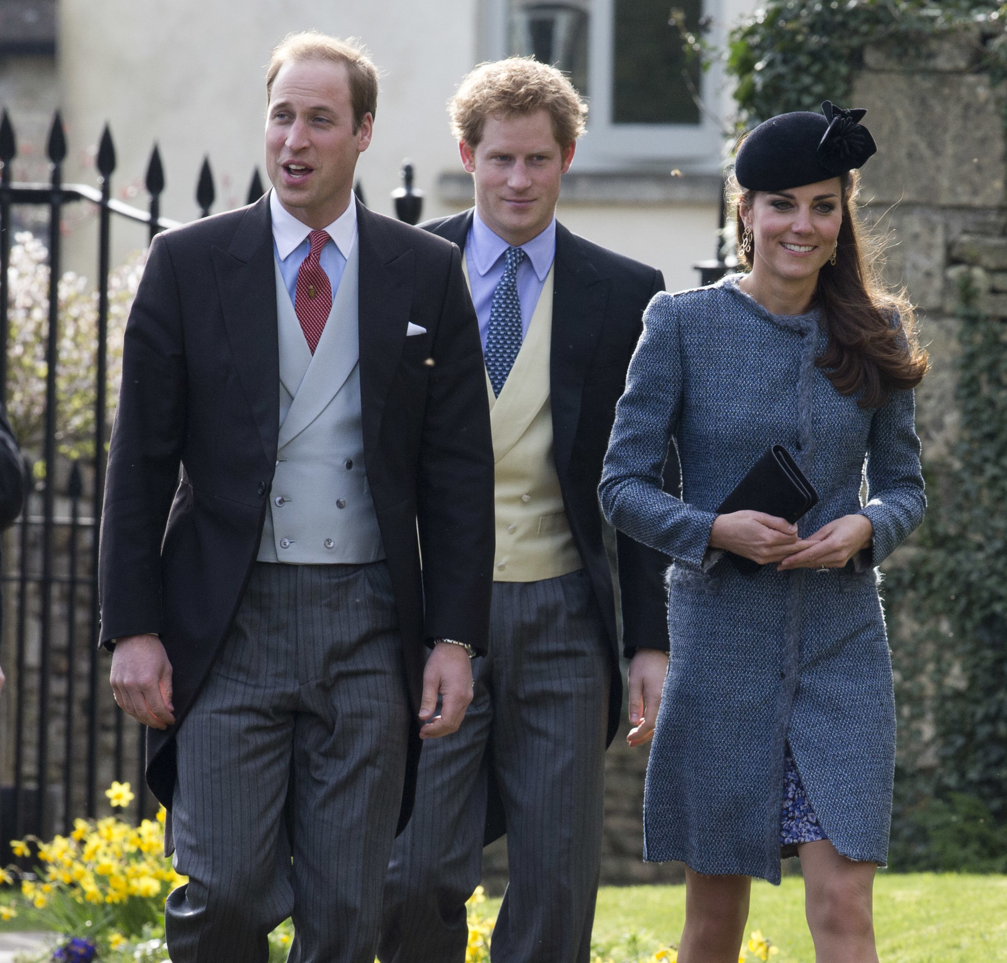 prince william harry catherine friend wedding