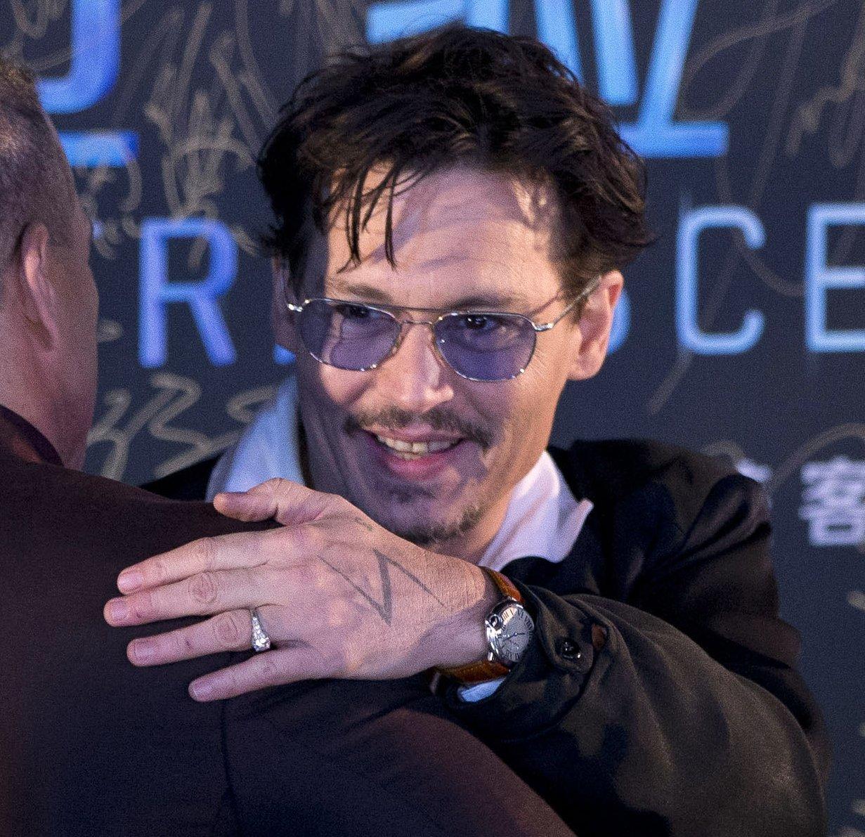 Johnny Depp ring