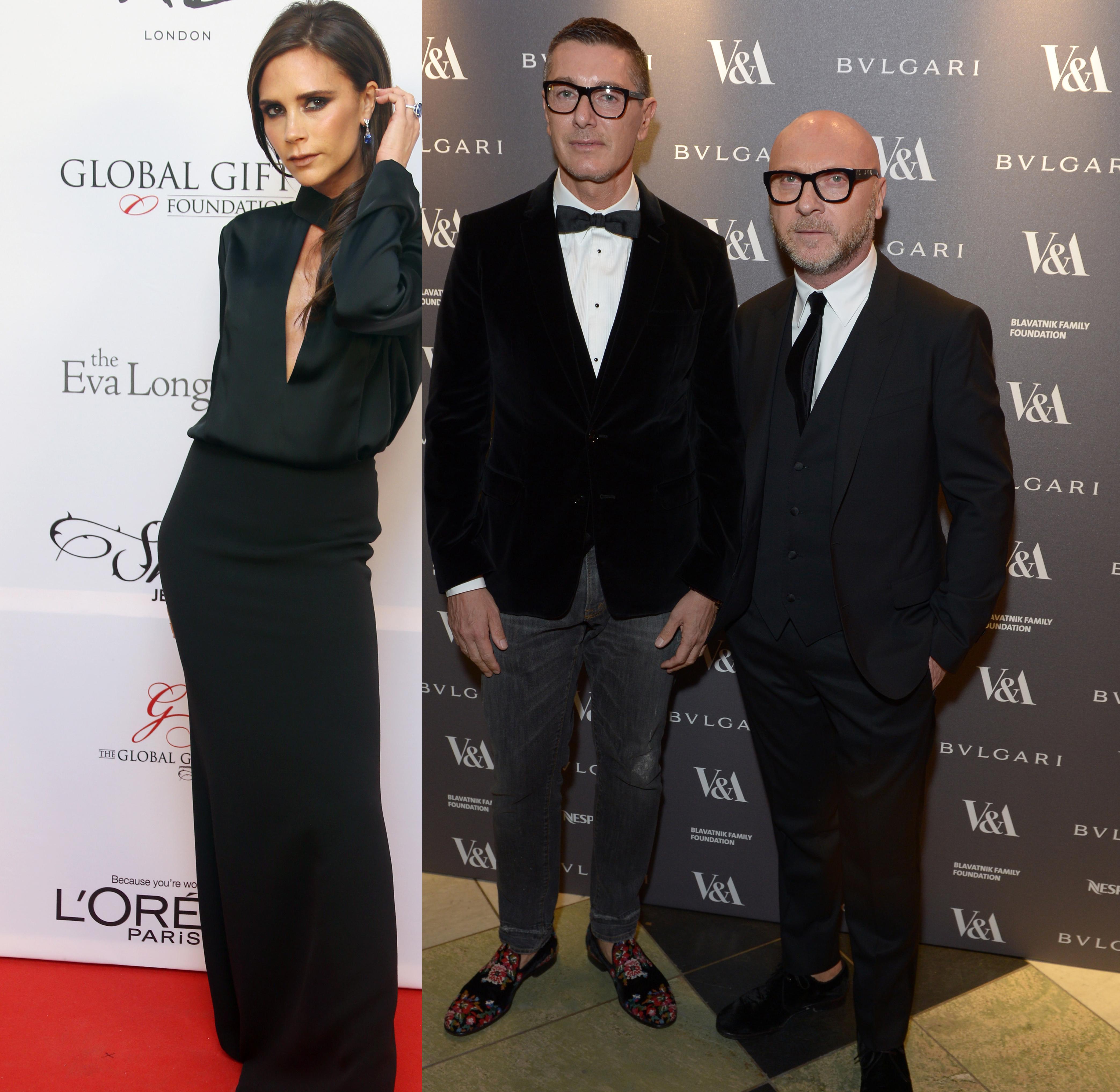 Beckham Dolce Gabbana diss