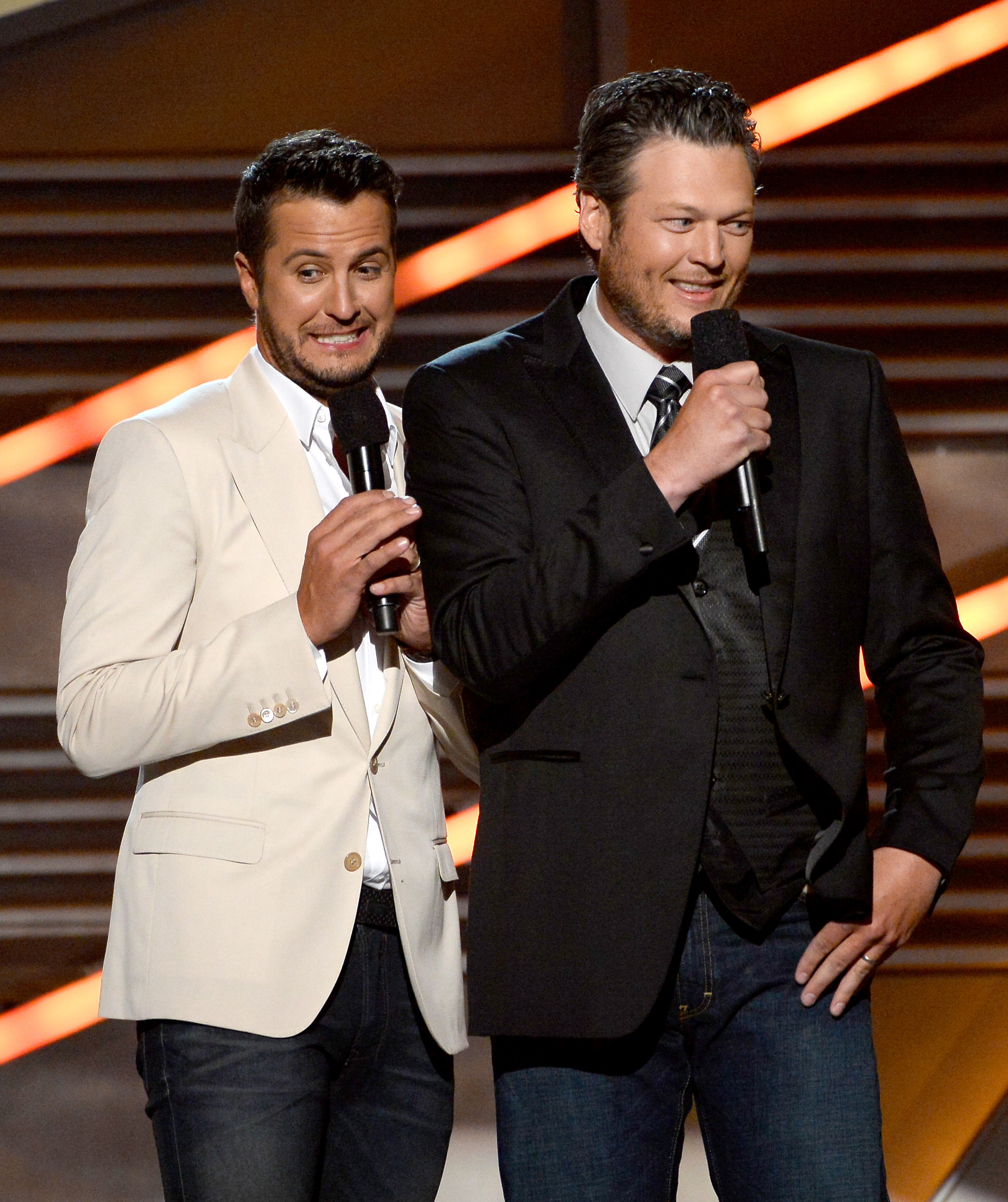 luke bryan and blake shelton 2014 ACM