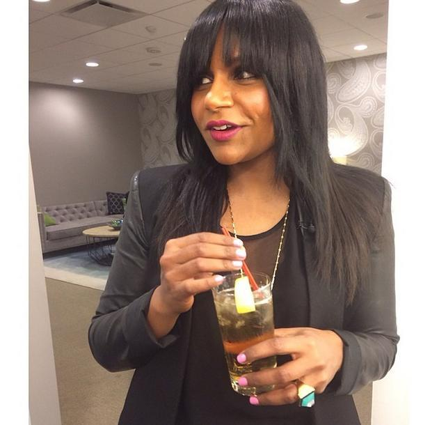 mindy kaling bangs