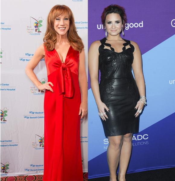 Kathy Griffin Demi Lovato