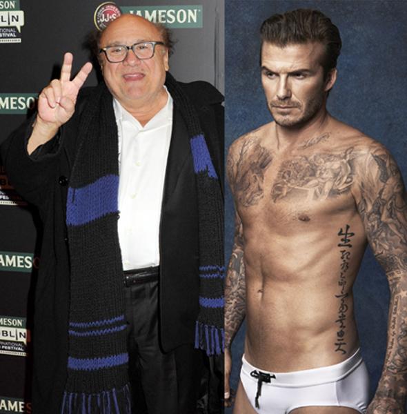Danny Devito David Beckham