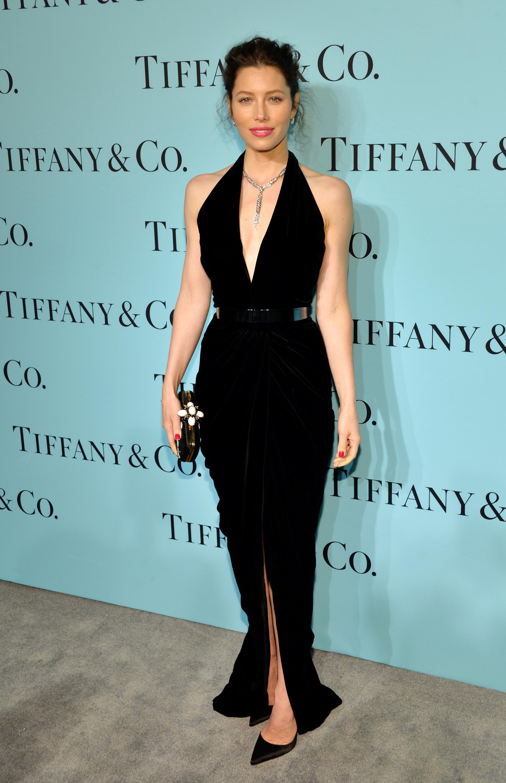 Jessica Biel tiffany