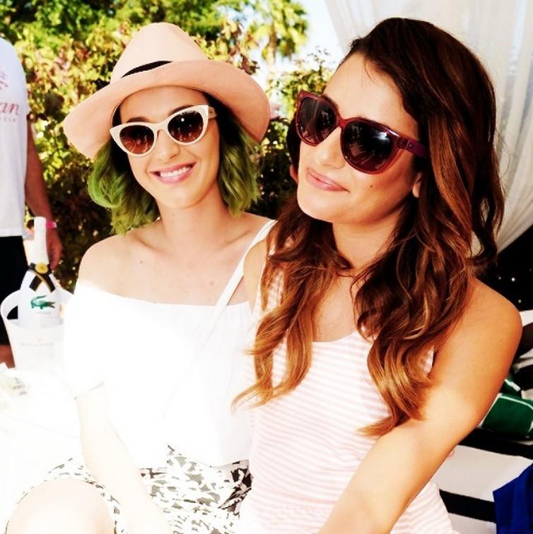 Lea Michele Katy Perry Coachella 2014