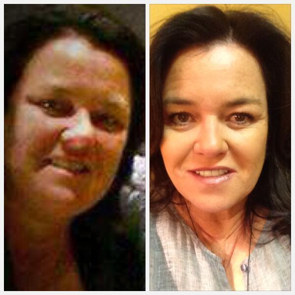 rosie twitter weight loss