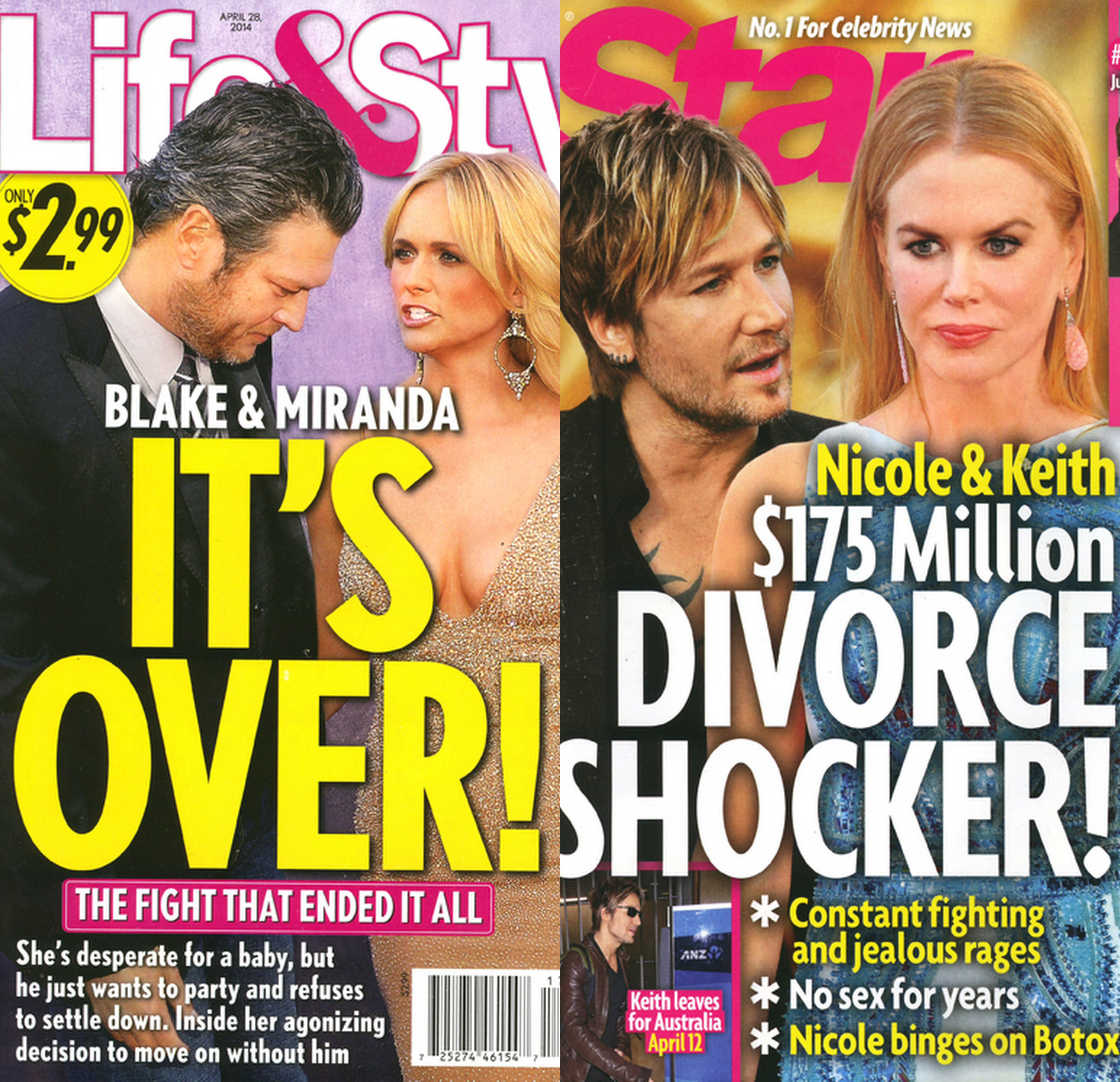 tabloid covers